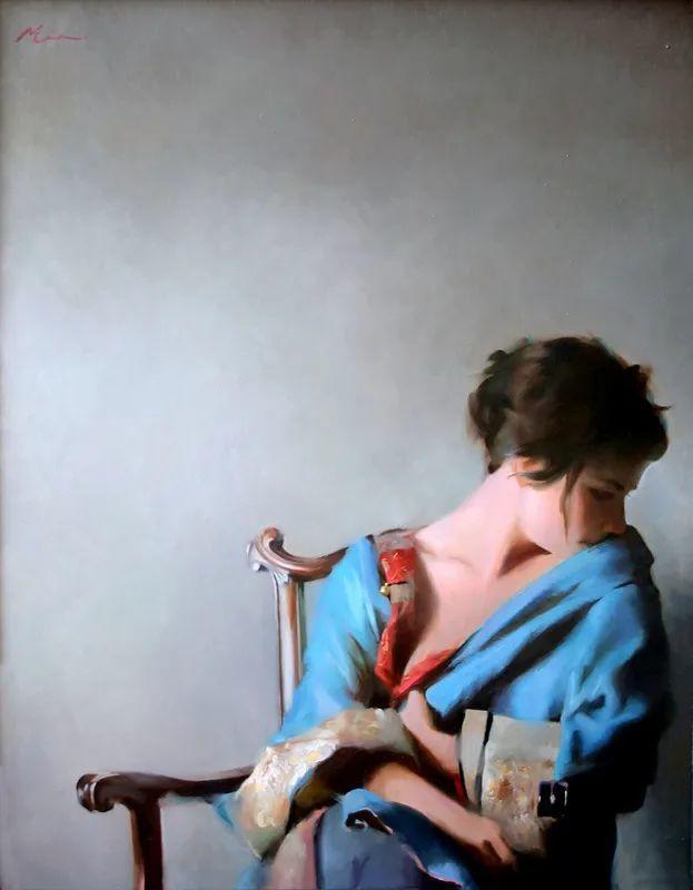 审美情愫,美国女画家米娅·伯杰龙插图79