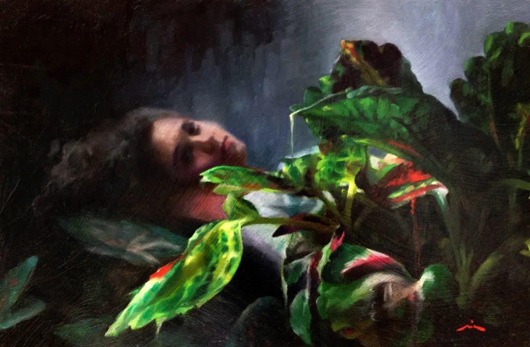 审美情愫,美国女画家米娅·伯杰龙插图81