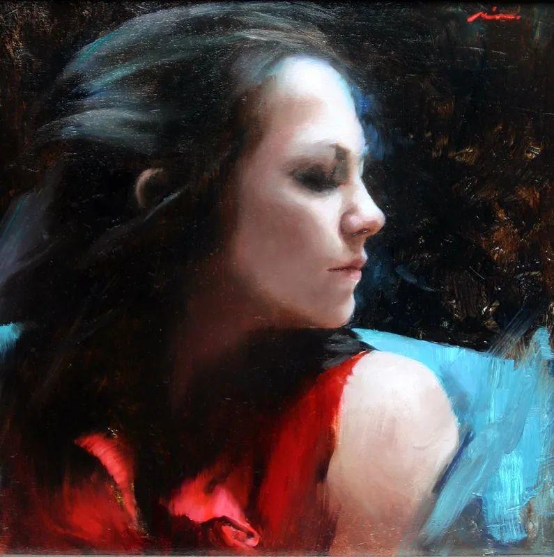 审美情愫,美国女画家米娅·伯杰龙插图85