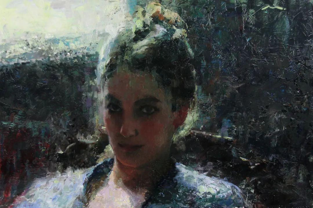 审美情愫,美国女画家米娅·伯杰龙插图113