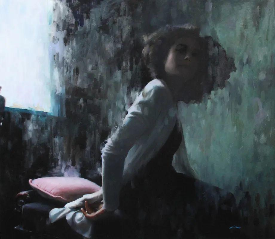 审美情愫,美国女画家米娅·伯杰龙插图127