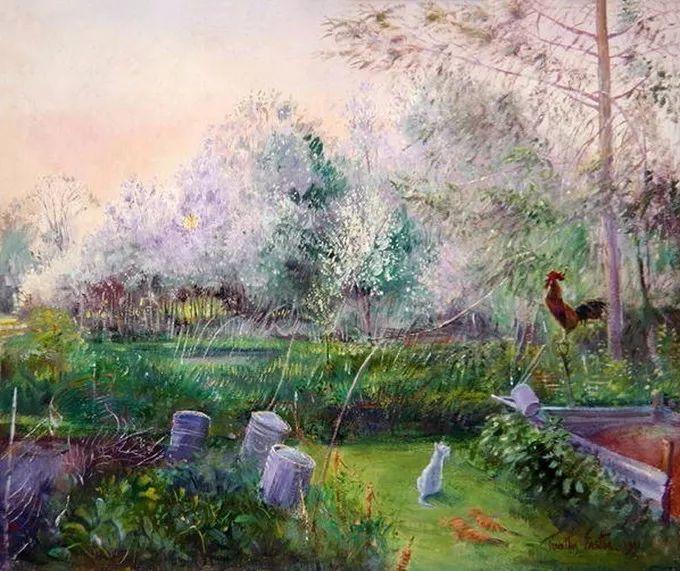 盛开的花园景色,色彩斑斓的风景!插图57