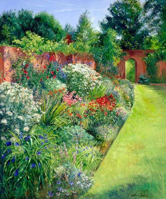 盛开的花园景色,色彩斑斓的风景!插图61