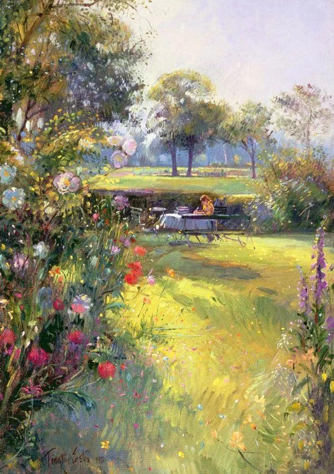 盛开的花园景色,色彩斑斓的风景!插图71