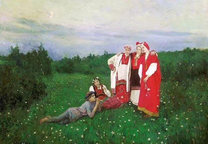 俄罗斯印象派大师,康斯坦丁·柯罗文插图23