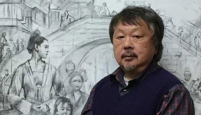 他创作了一批中国历史画,独树一帜于美国画坛!插图3