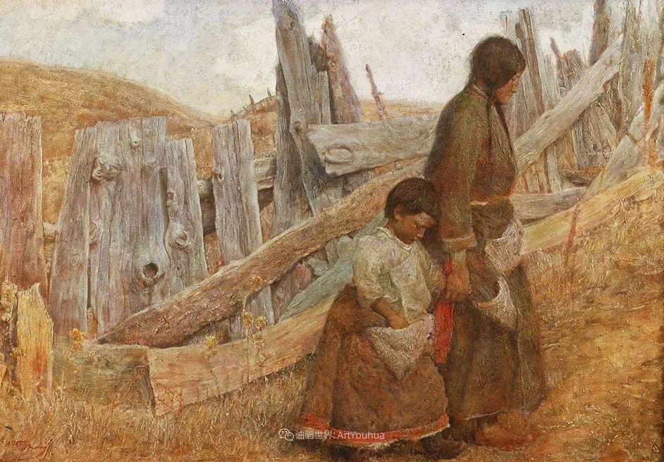 他创作了一批中国历史画,独树一帜于美国画坛!插图39
