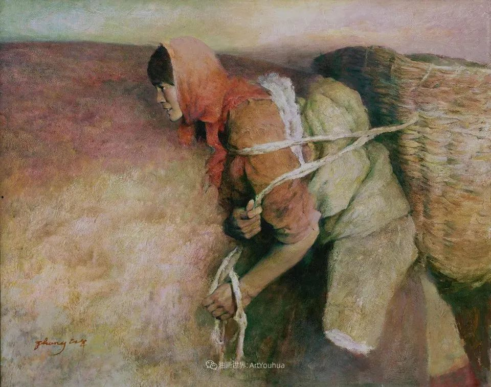 他创作了一批中国历史画,独树一帜于美国画坛!插图41