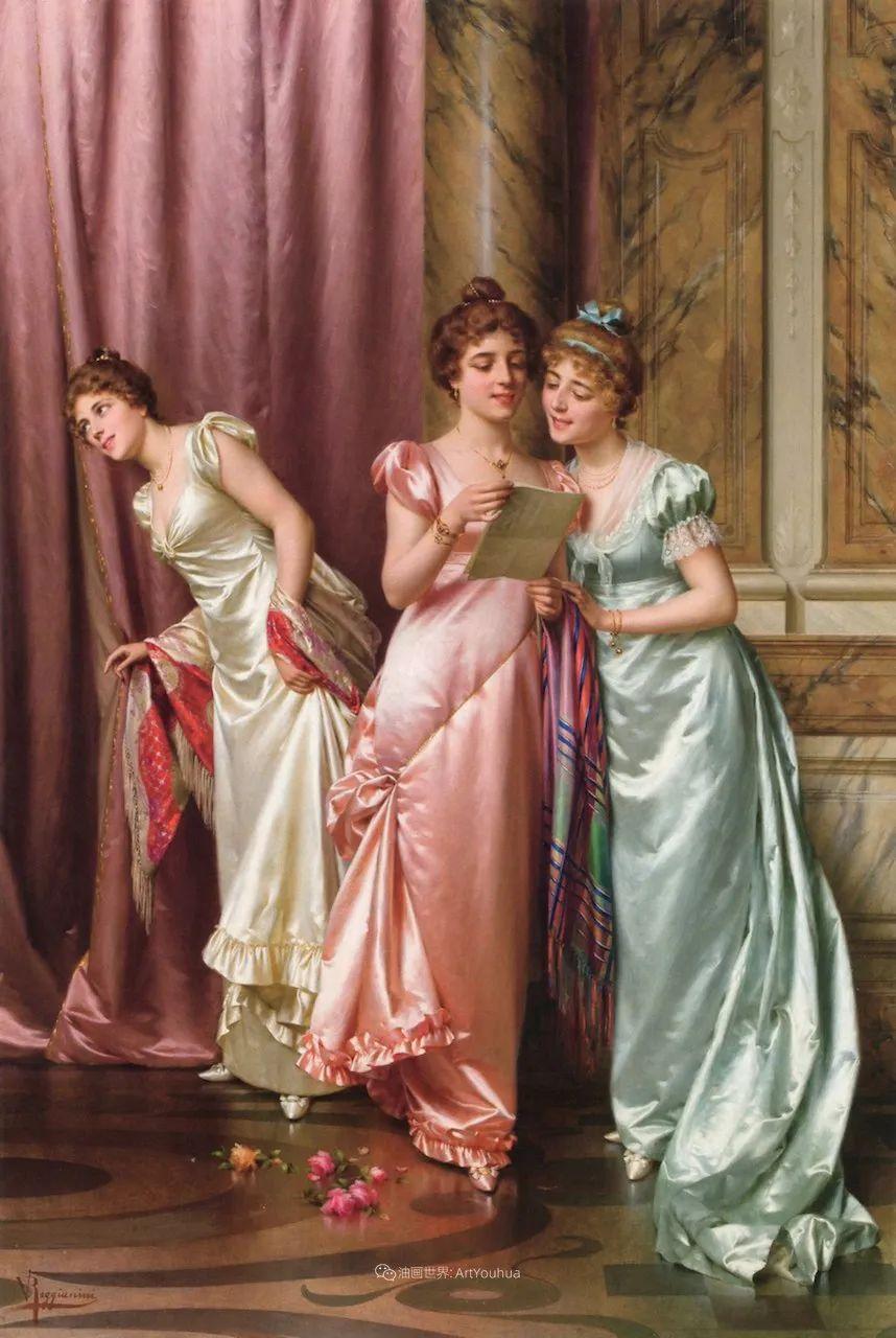 充斥着浪漫音符的贵族生活,衣服质感太强了!插图3