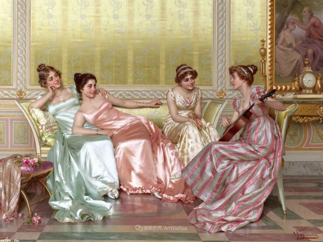 充斥着浪漫音符的贵族生活,衣服质感太强了!插图5