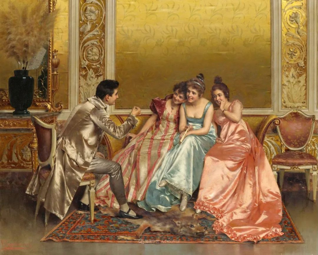 充斥着浪漫音符的贵族生活,衣服质感太强了!插图7