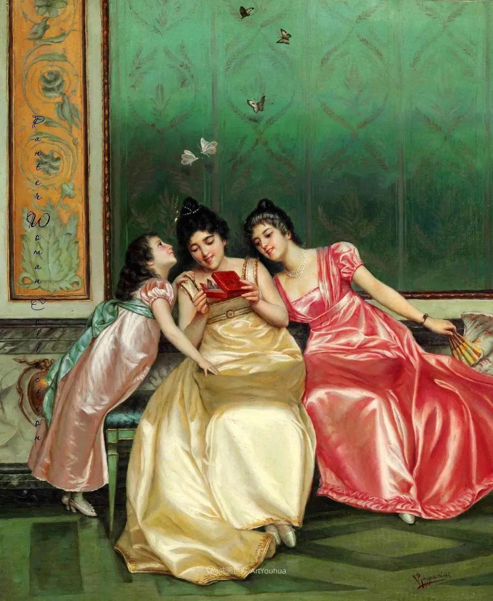 充斥着浪漫音符的贵族生活,衣服质感太强了!插图9