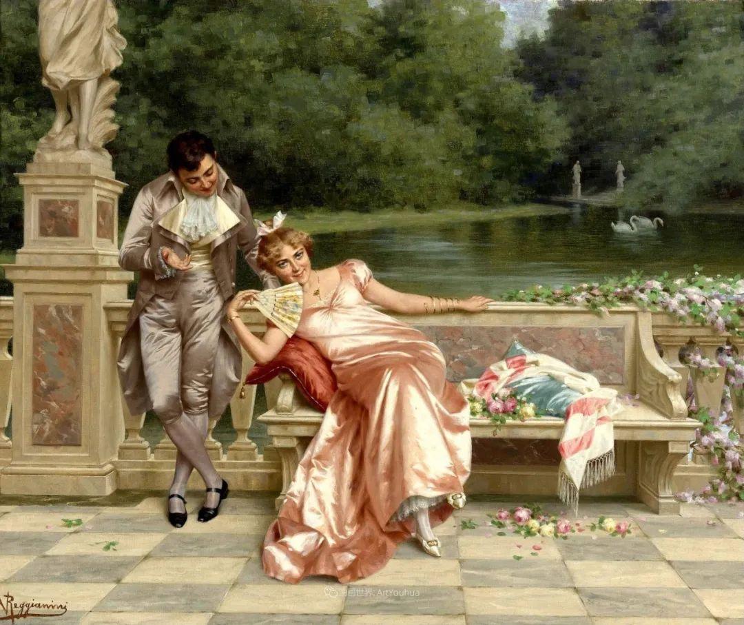 充斥着浪漫音符的贵族生活,衣服质感太强了!插图15