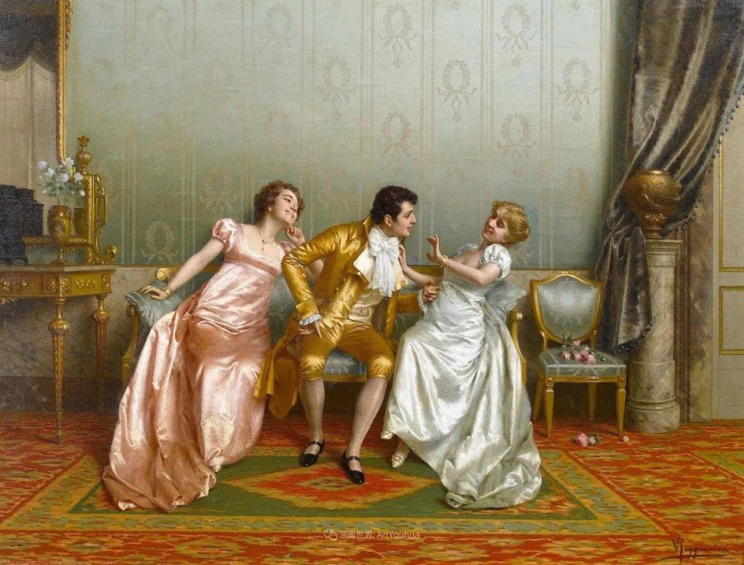 充斥着浪漫音符的贵族生活,衣服质感太强了!插图17