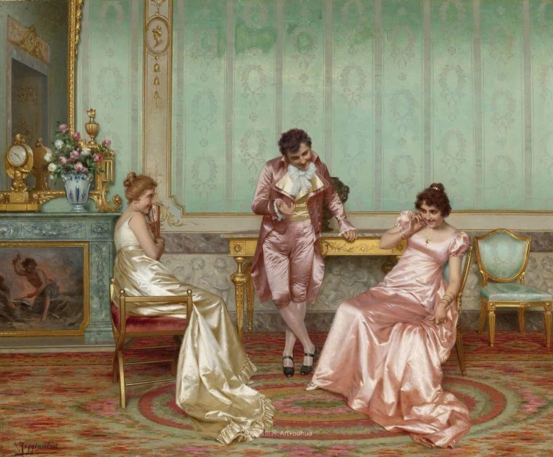 充斥着浪漫音符的贵族生活,衣服质感太强了!插图19