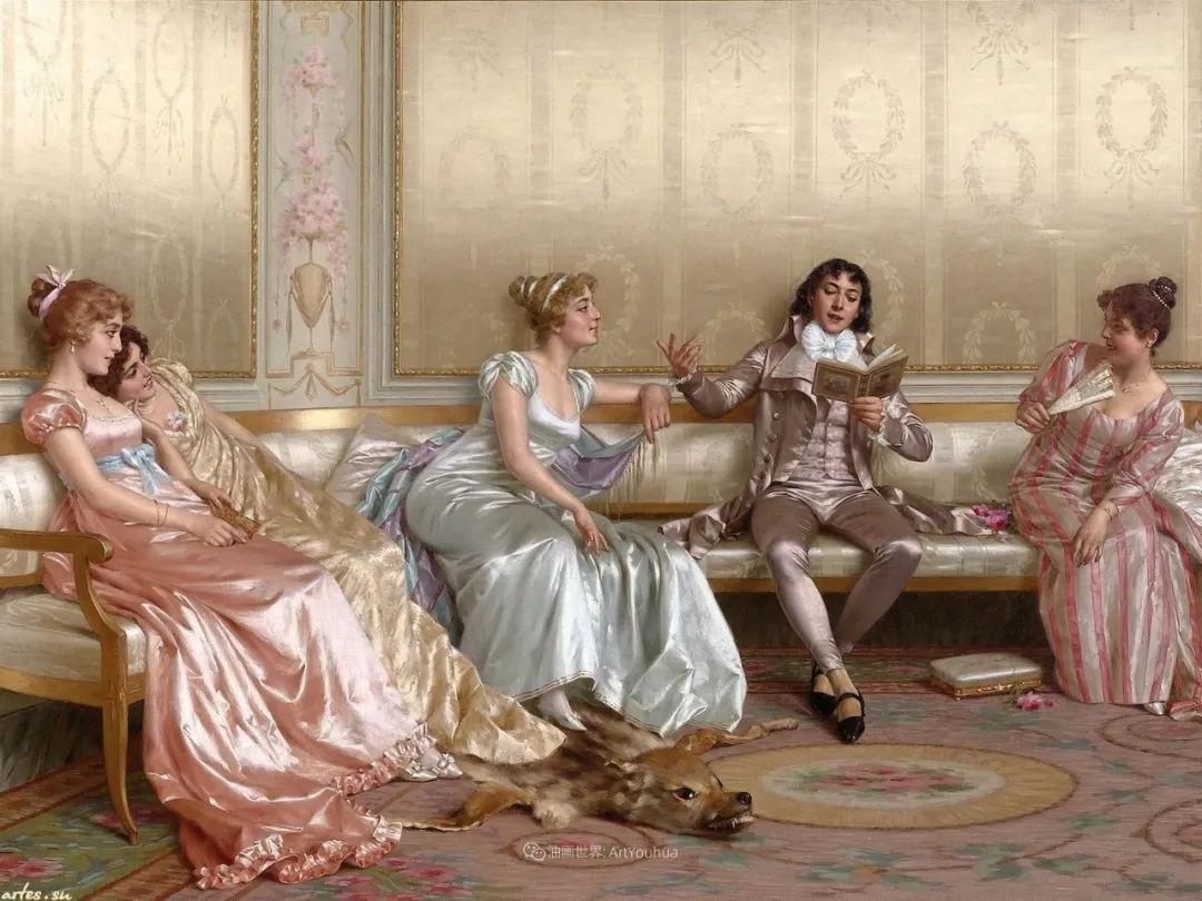 充斥着浪漫音符的贵族生活,衣服质感太强了!插图25