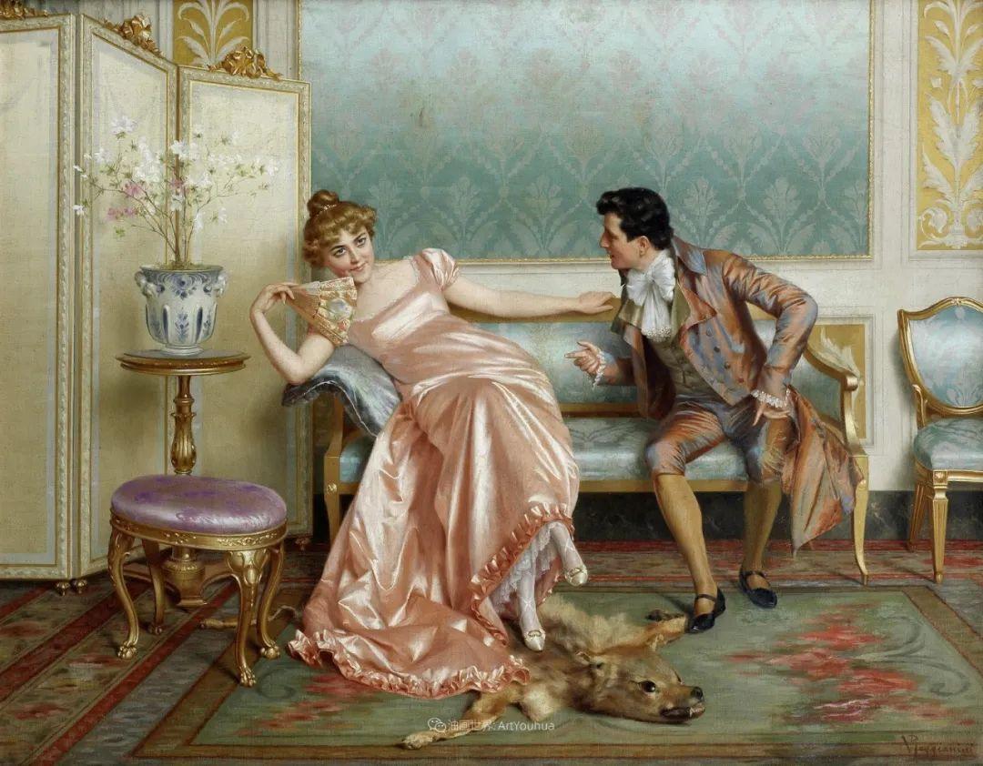 充斥着浪漫音符的贵族生活,衣服质感太强了!插图29