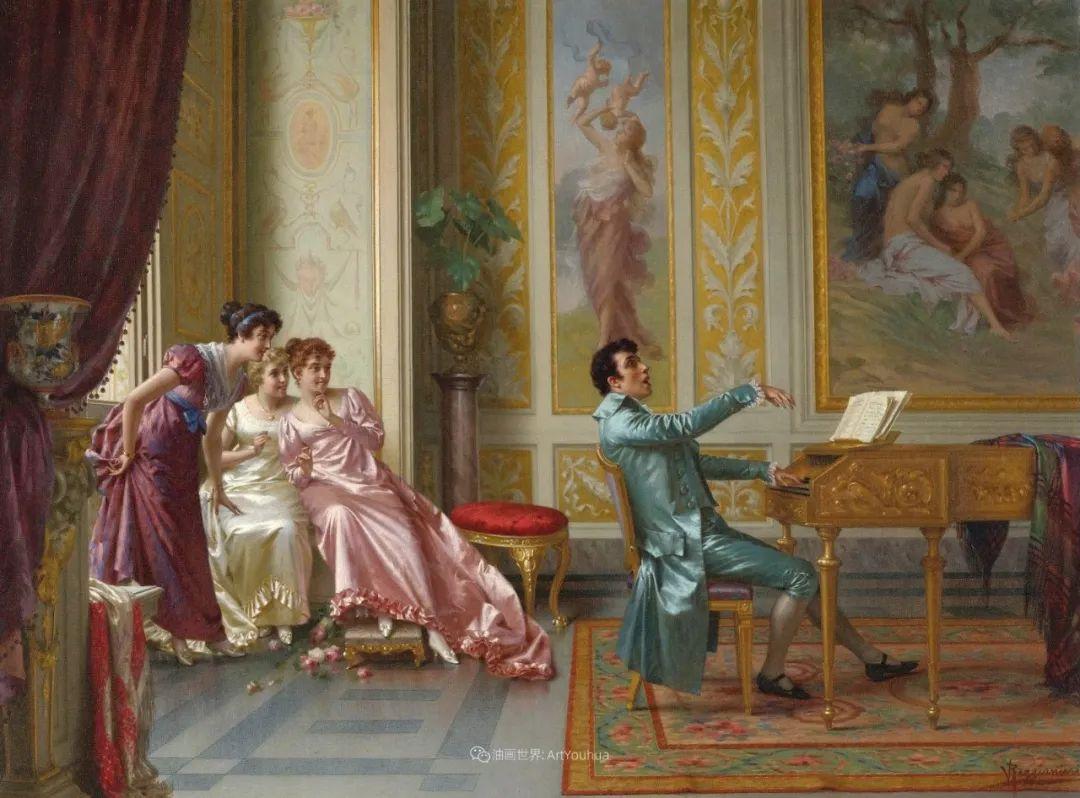 充斥着浪漫音符的贵族生活,衣服质感太强了!插图33