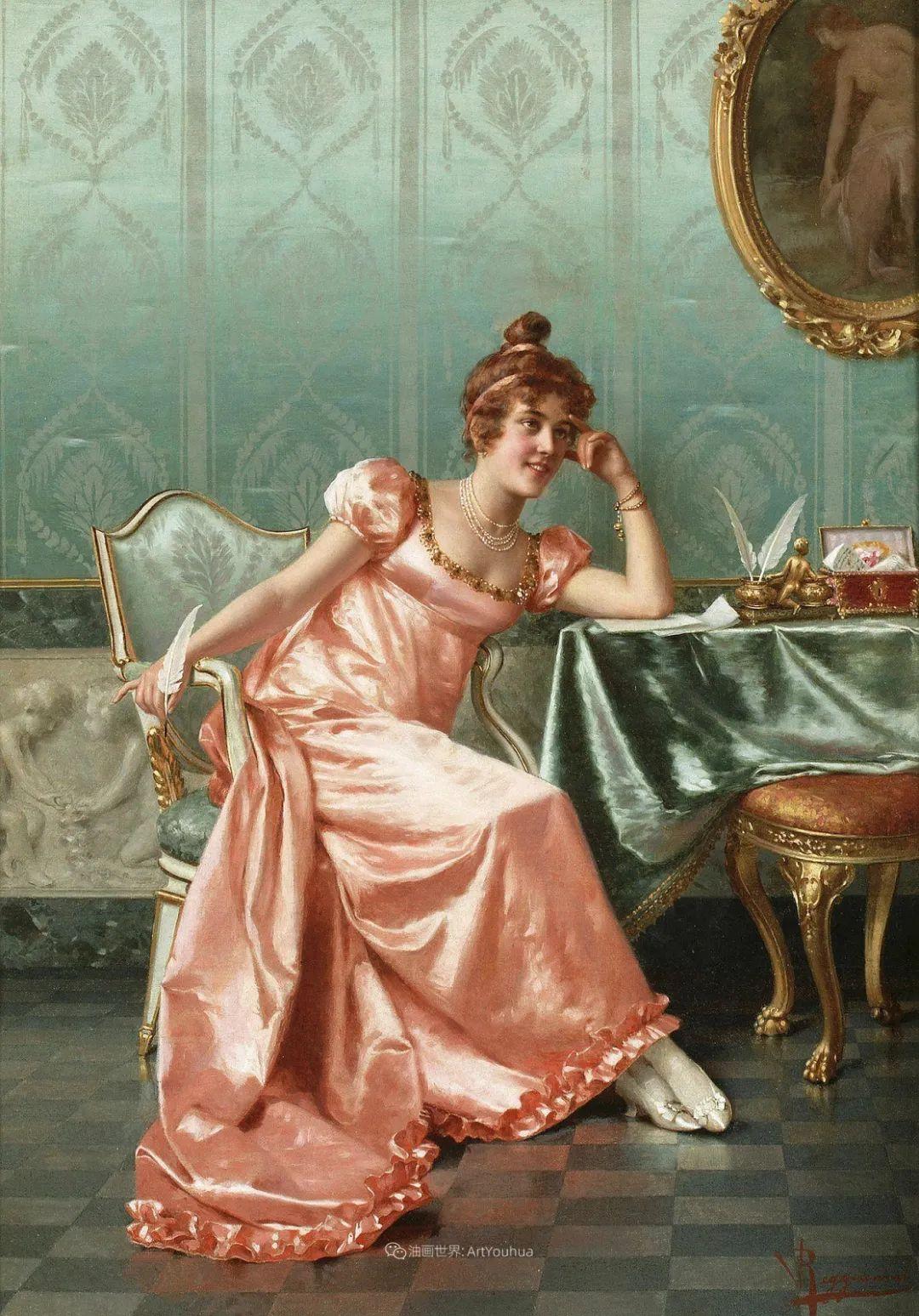 充斥着浪漫音符的贵族生活,衣服质感太强了!插图43