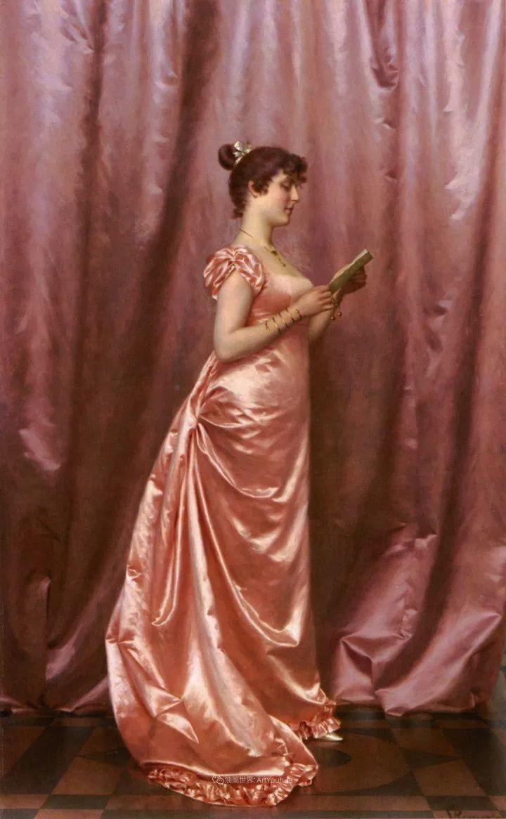 充斥着浪漫音符的贵族生活,衣服质感太强了!插图49