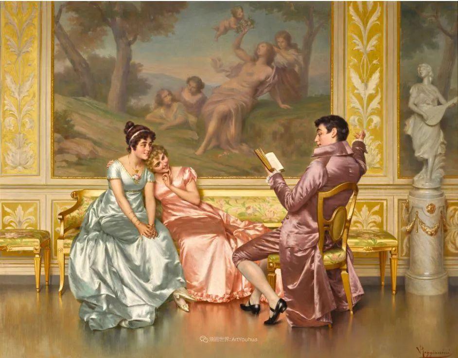 充斥着浪漫音符的贵族生活,衣服质感太强了!插图51