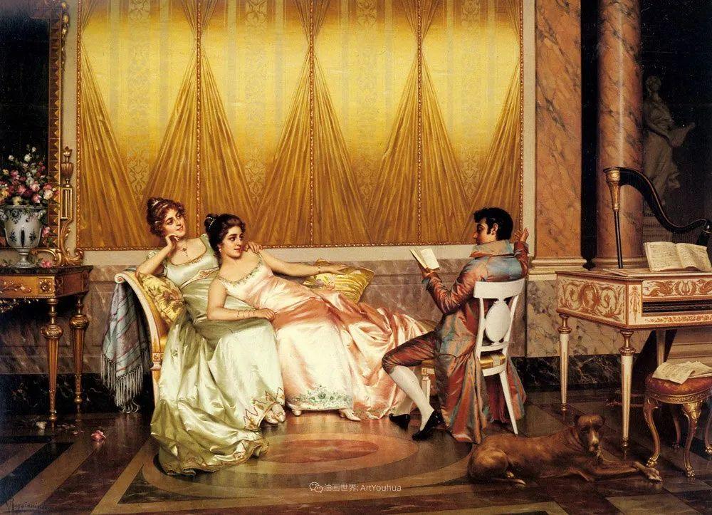 充斥着浪漫音符的贵族生活,衣服质感太强了!插图53