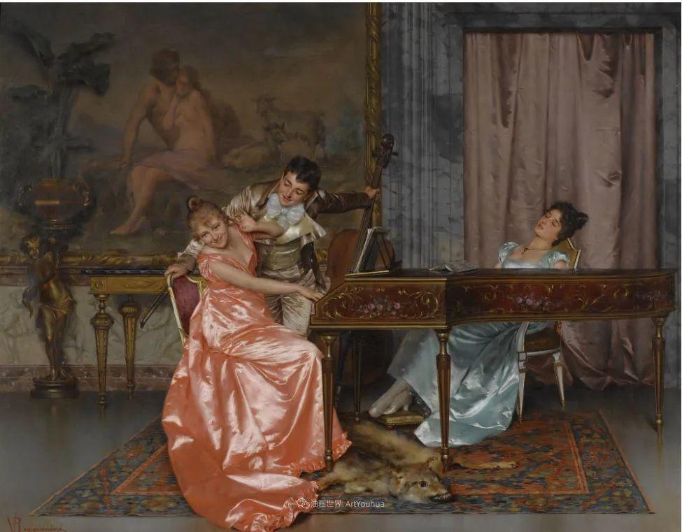 充斥着浪漫音符的贵族生活,衣服质感太强了!插图55