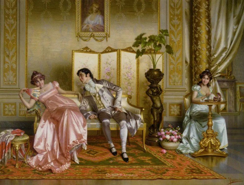 充斥着浪漫音符的贵族生活,衣服质感太强了!插图57
