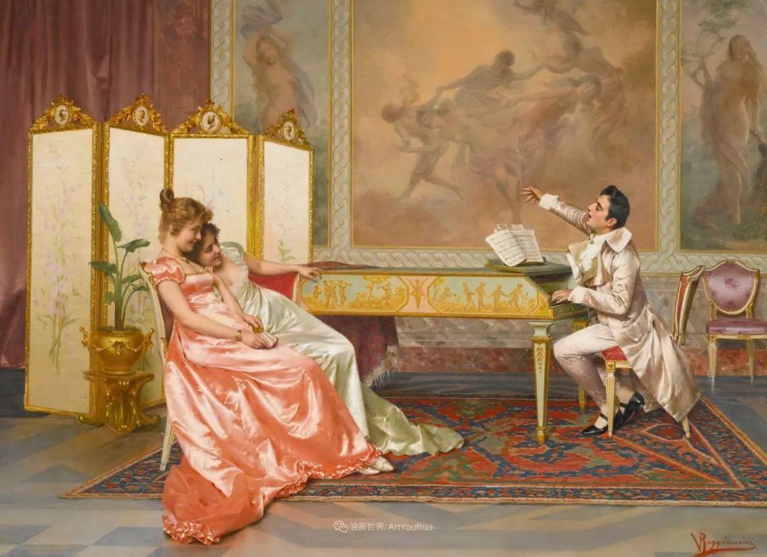 充斥着浪漫音符的贵族生活,衣服质感太强了!插图63