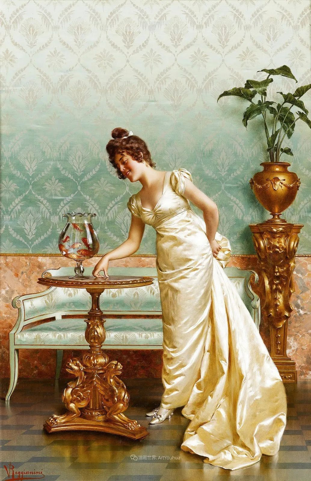 充斥着浪漫音符的贵族生活,衣服质感太强了!插图79