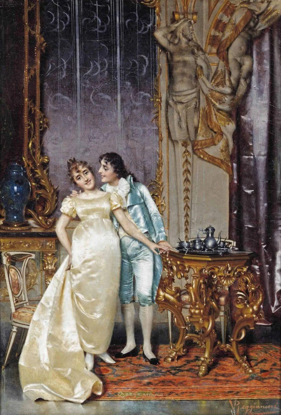 充斥着浪漫音符的贵族生活,衣服质感太强了!插图85