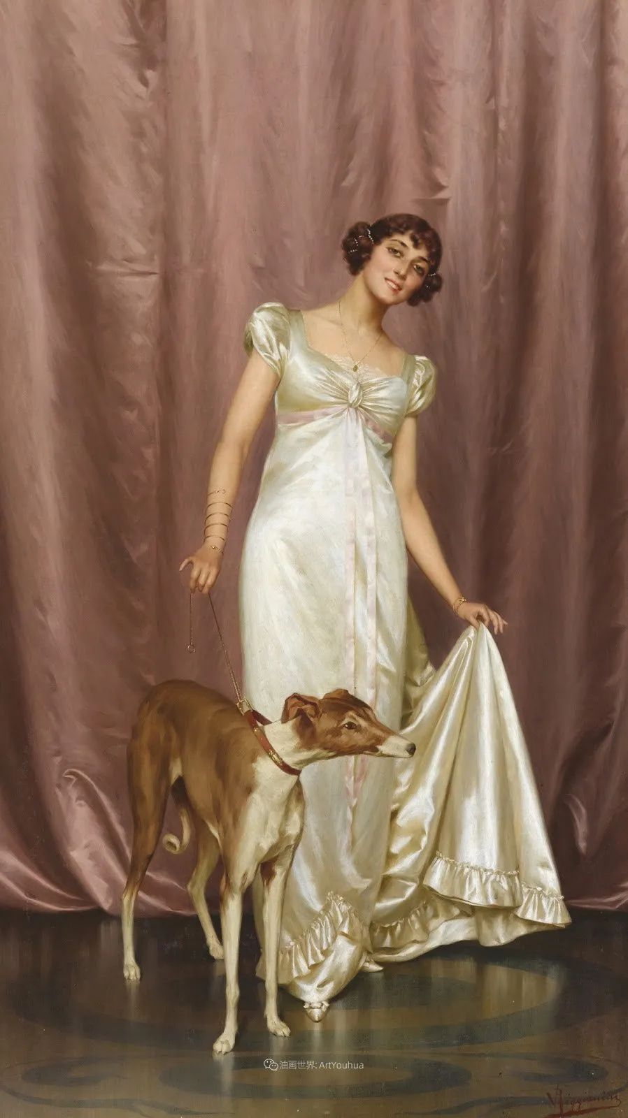 充斥着浪漫音符的贵族生活,衣服质感太强了!插图91