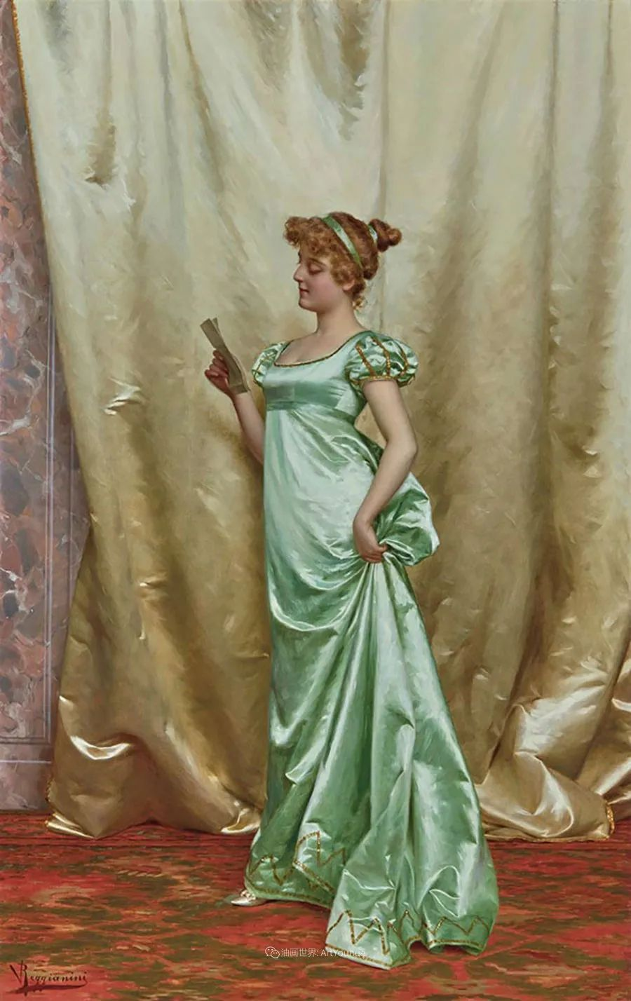 充斥着浪漫音符的贵族生活,衣服质感太强了!插图93