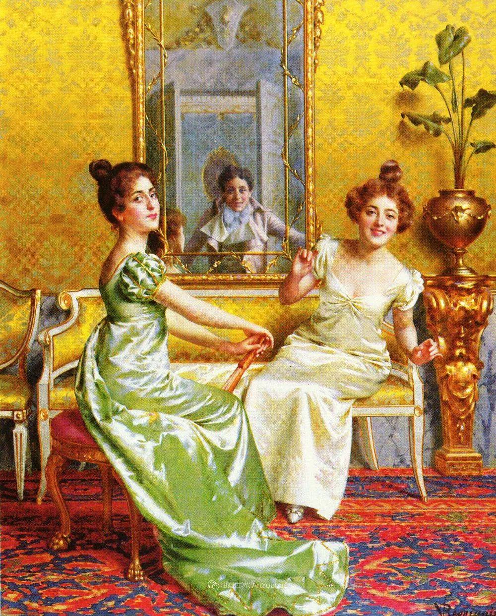 充斥着浪漫音符的贵族生活,衣服质感太强了!插图95