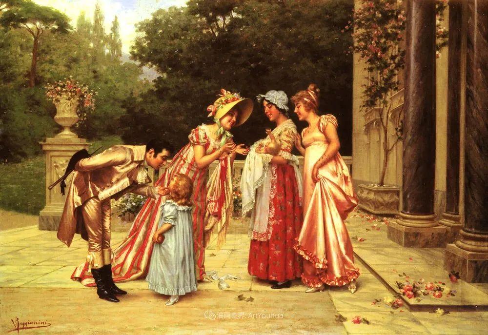充斥着浪漫音符的贵族生活,衣服质感太强了!插图99