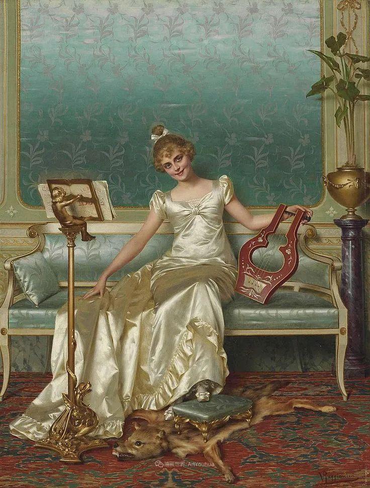 充斥着浪漫音符的贵族生活,衣服质感太强了!插图103