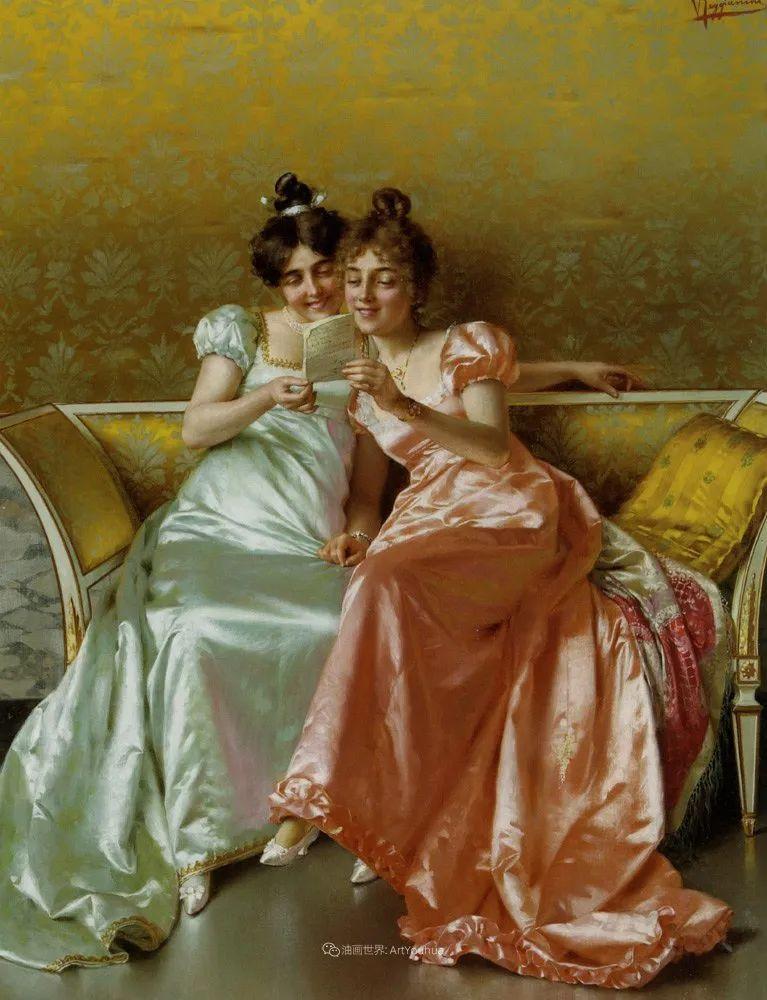 充斥着浪漫音符的贵族生活,衣服质感太强了!插图105