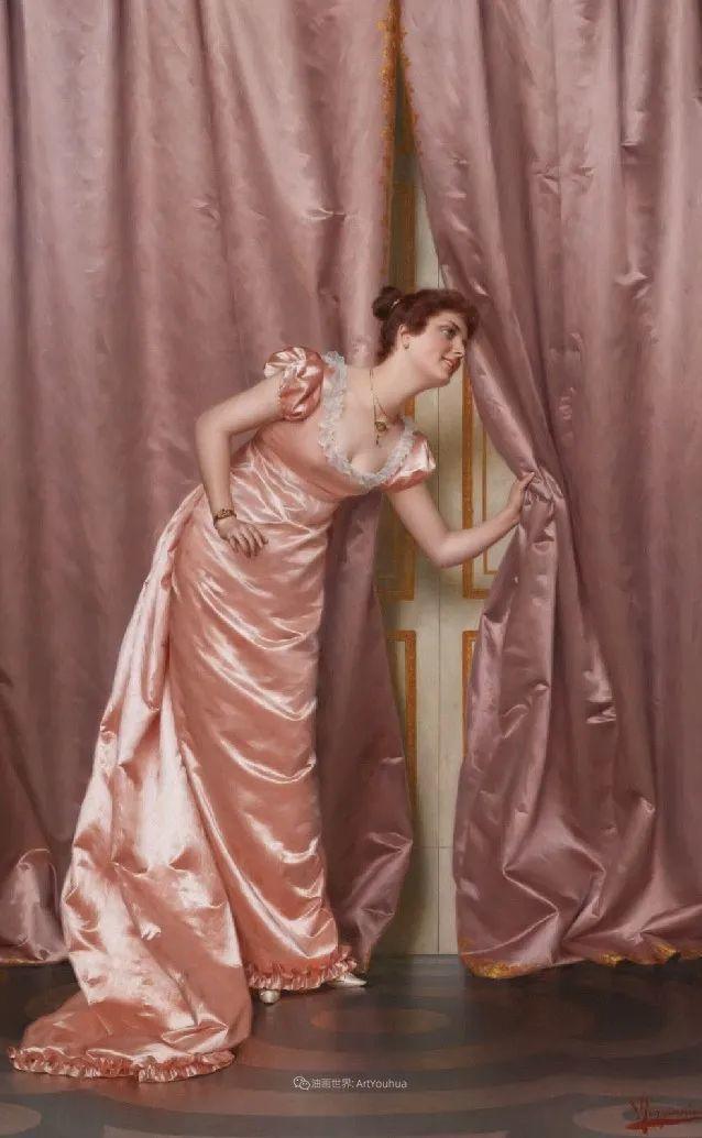 充斥着浪漫音符的贵族生活,衣服质感太强了!插图107