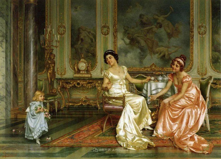 充斥着浪漫音符的贵族生活,衣服质感太强了!插图111
