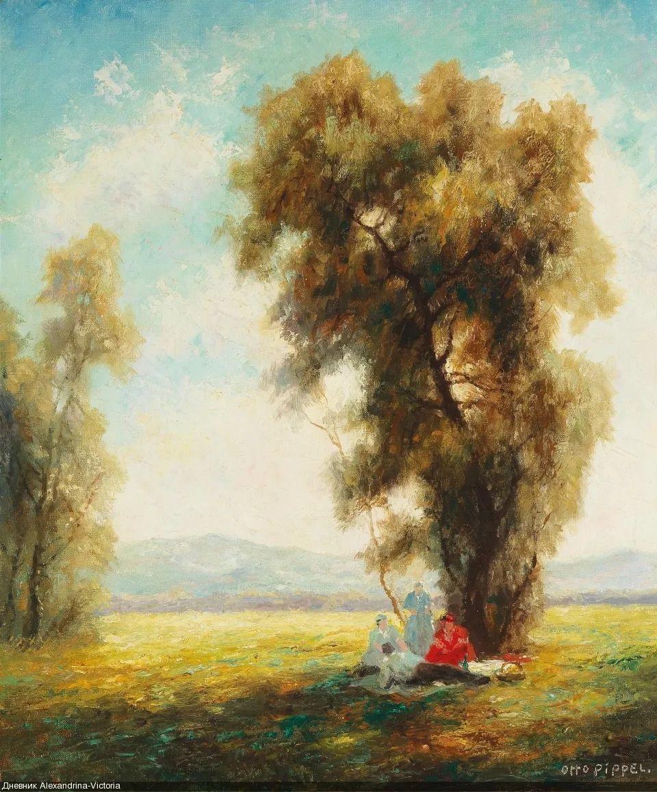 德国印象派画家奥托·皮佩尔插图59