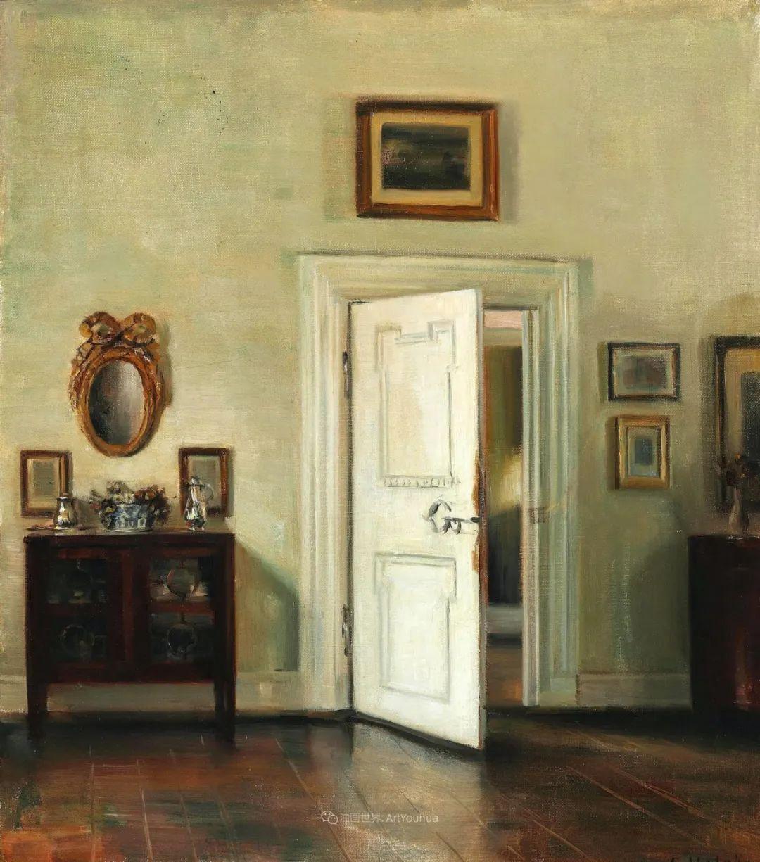室内一角,Carl Vilhelm Holsoe (下)插图3