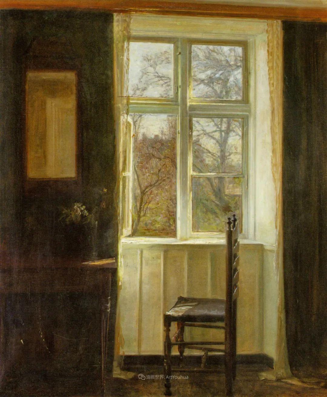 室内一角,Carl Vilhelm Holsoe (下)插图9