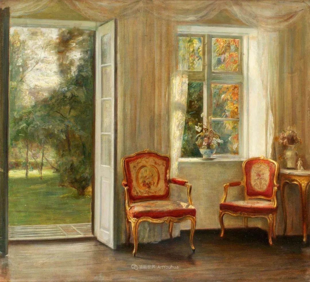 室内一角,Carl Vilhelm Holsoe (下)插图13
