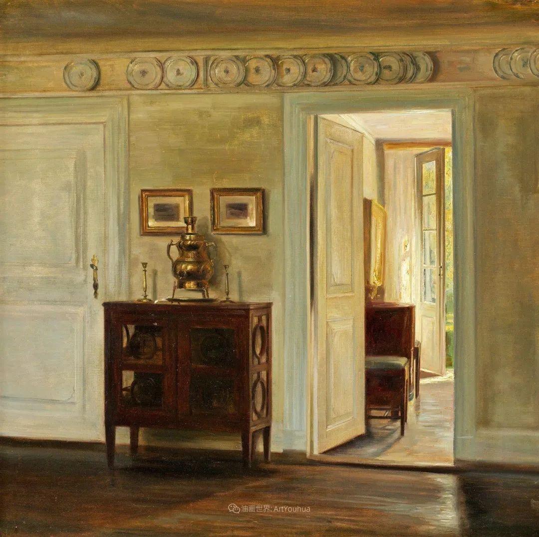 室内一角,Carl Vilhelm Holsoe (下)插图15
