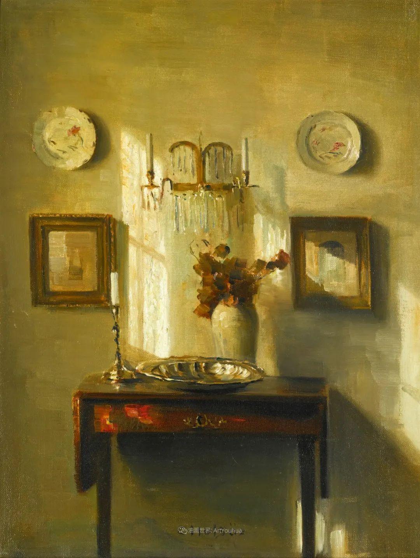 室内一角,Carl Vilhelm Holsoe (下)插图17