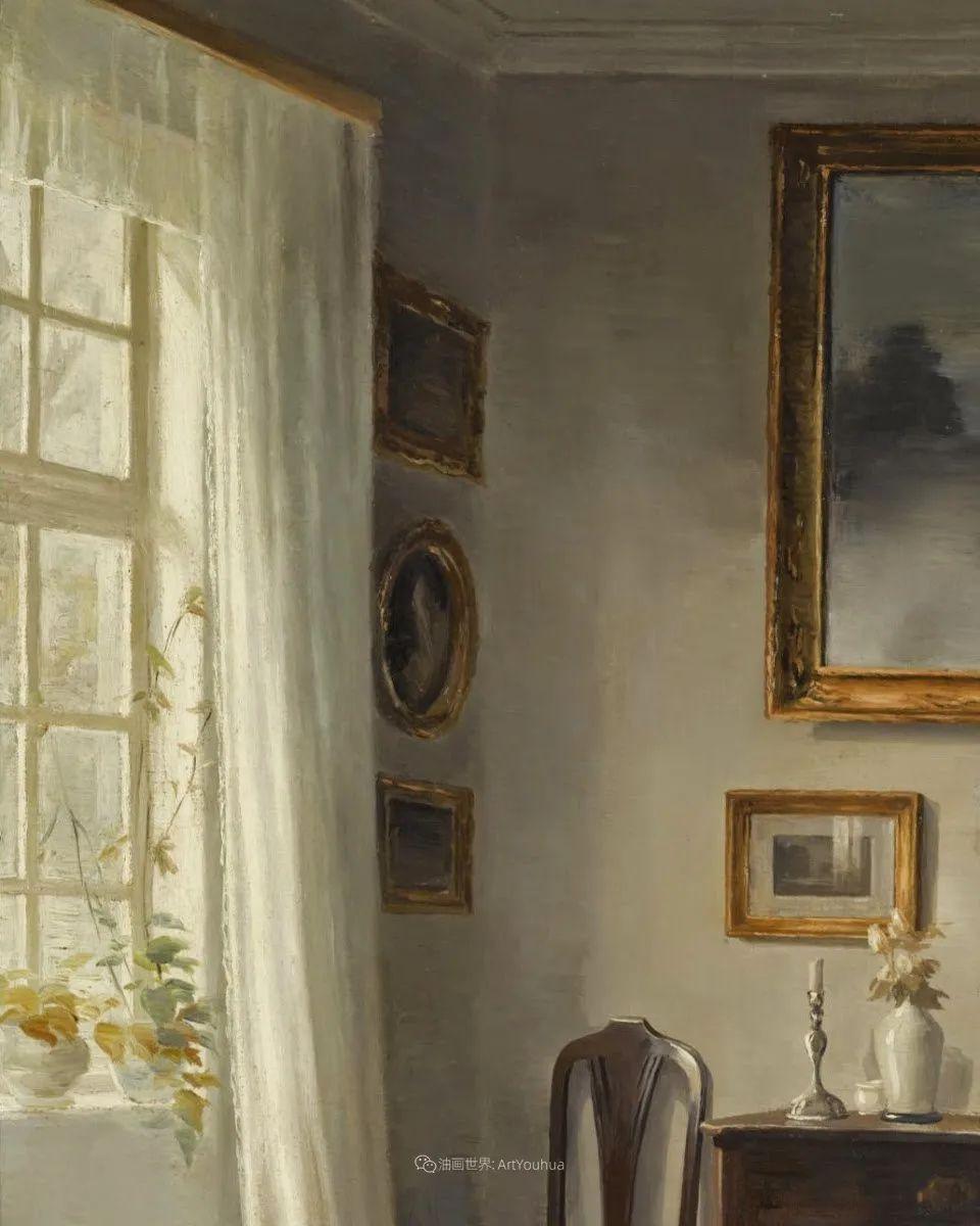 室内一角,Carl Vilhelm Holsoe (下)插图19
