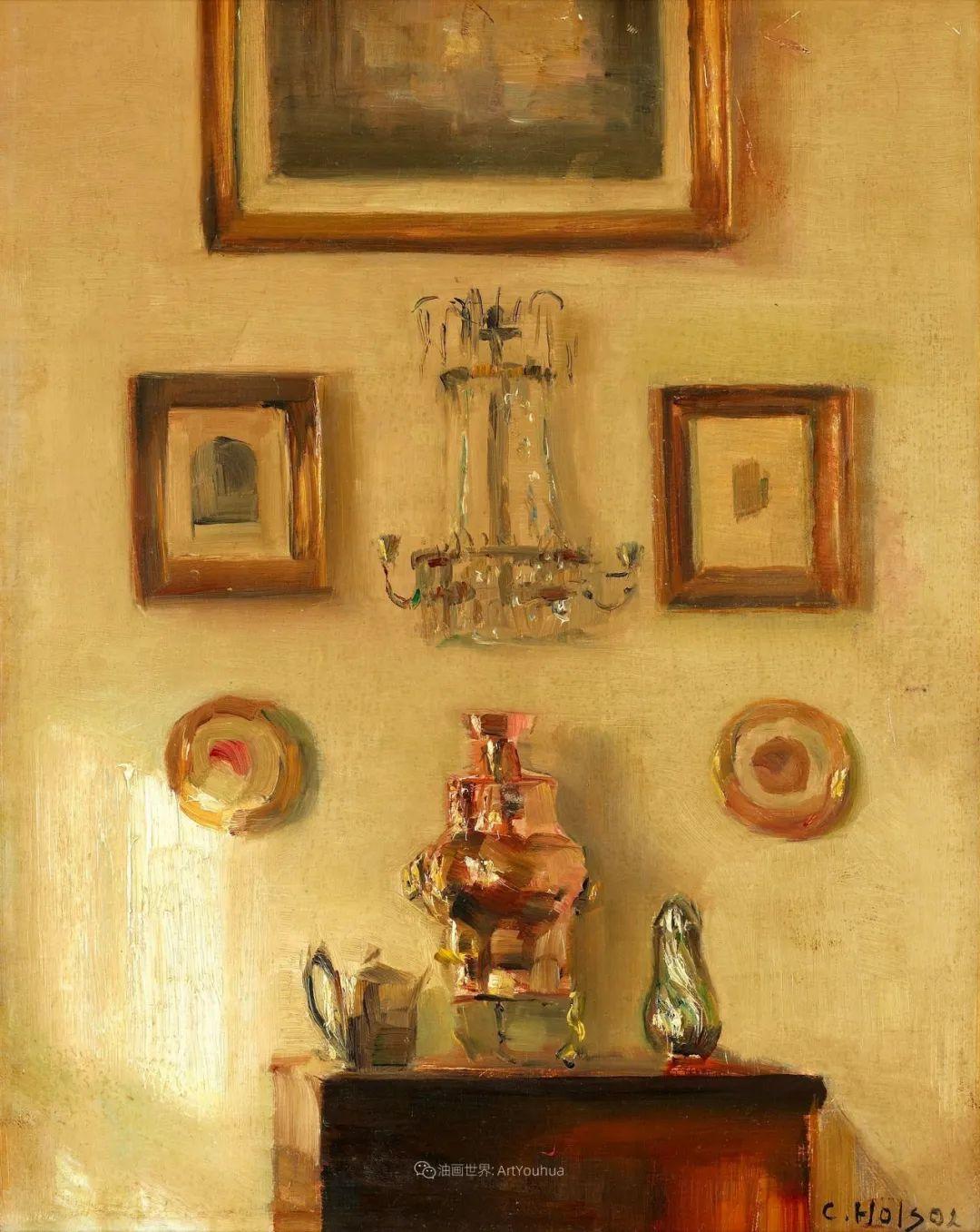 室内一角,Carl Vilhelm Holsoe (下)插图25
