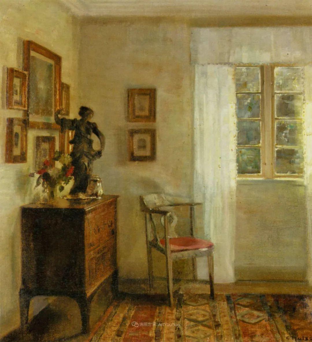 室内一角,Carl Vilhelm Holsoe (下)插图27