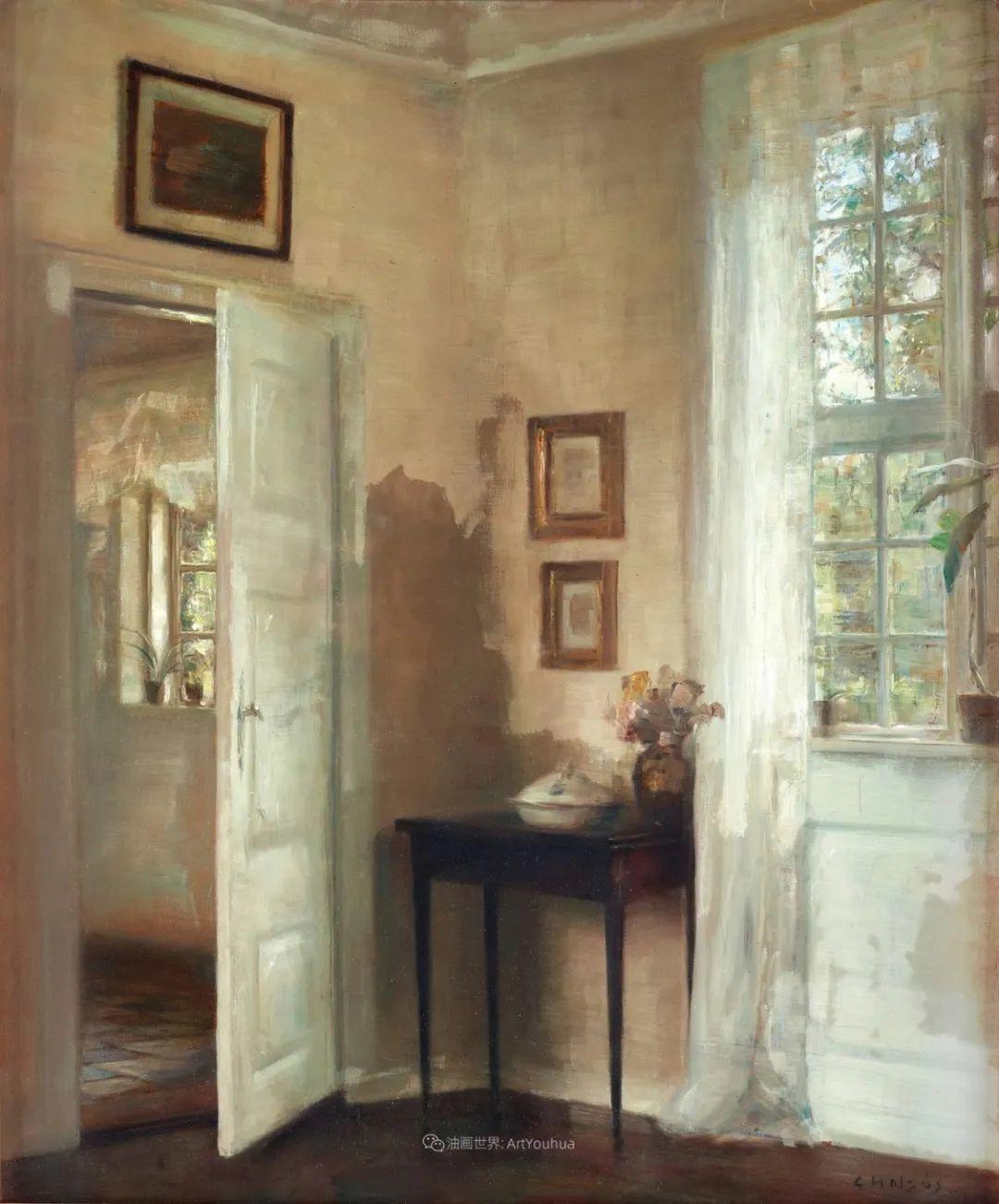室内一角,Carl Vilhelm Holsoe (下)插图37