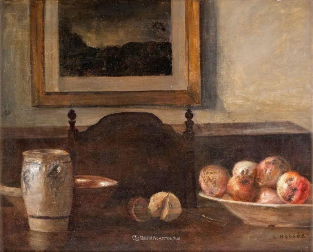 室内一角,Carl Vilhelm Holsoe (下)插图39